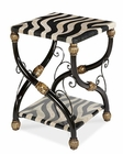 AICO Discoveries Zebra Accent Table AI-ACF-ACT-CARO-016