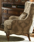 AICO Fabric Wing Chair Venetian ll AI-68836-MULTI-28