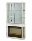 AICO Fireplace w/ Curio Top Beverly Blvd AI-0622021-11