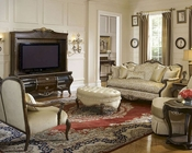 AICO Imperial Court Sofa Set in Champagne AI-79815-CHPGN-Set