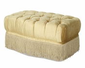 AICO Imperial Court Tufted Chair Ottoman in Pearl AI-79877-PEARL-00