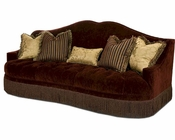 AICO Imperial Court Tufted Sofa in Eggplant AI-79815-EGPLT-00