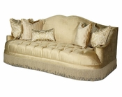 AICO Imperial Court Tufted Sofa in Pearl AI-79815-PEARL-00