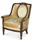 AICO Imperial Court Wood Trim Chair AI-79835-CHPGN-40