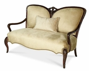 AICO Imperial Court Wood Trim Settee AI-79864-CHPGN-40