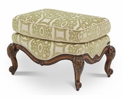 AICO Lavelle Melange Bergere Chair Ottoman in Celery AI-54875-CELRY-34