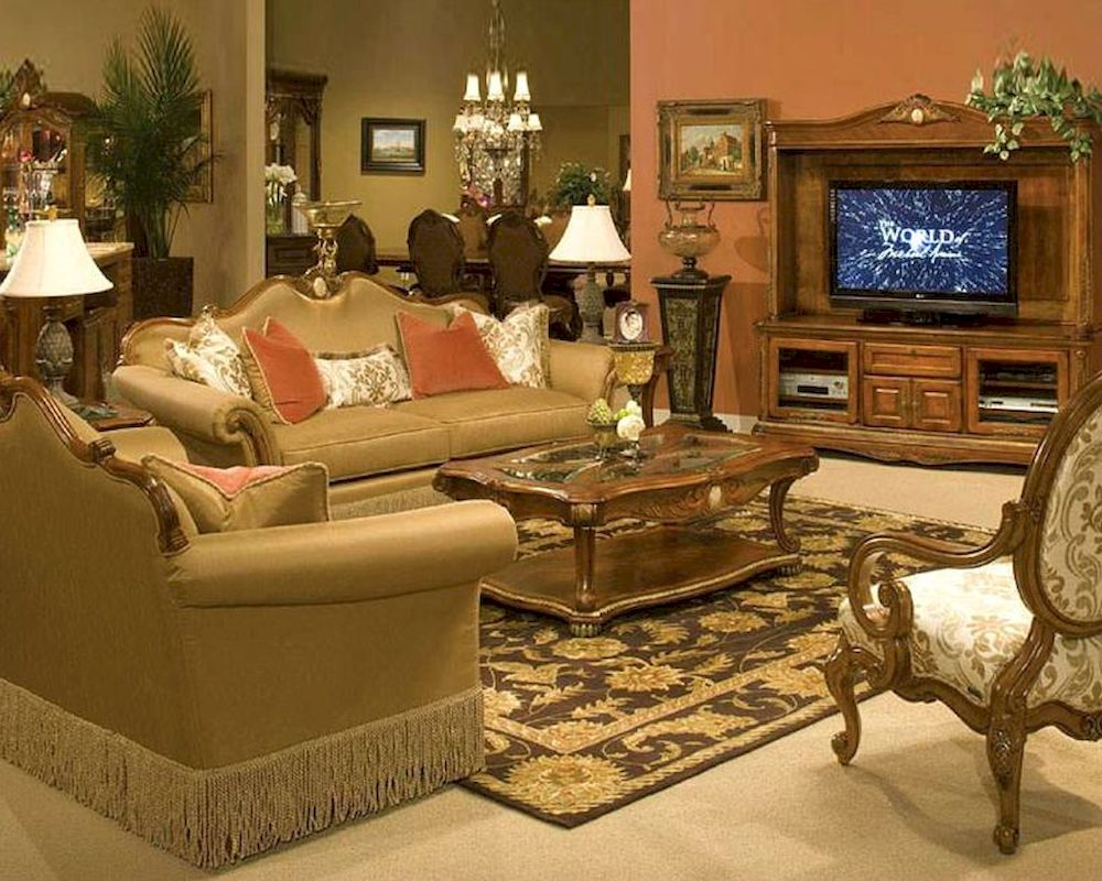 Aico living room set cortina ai 6581525 for Aico living room sets