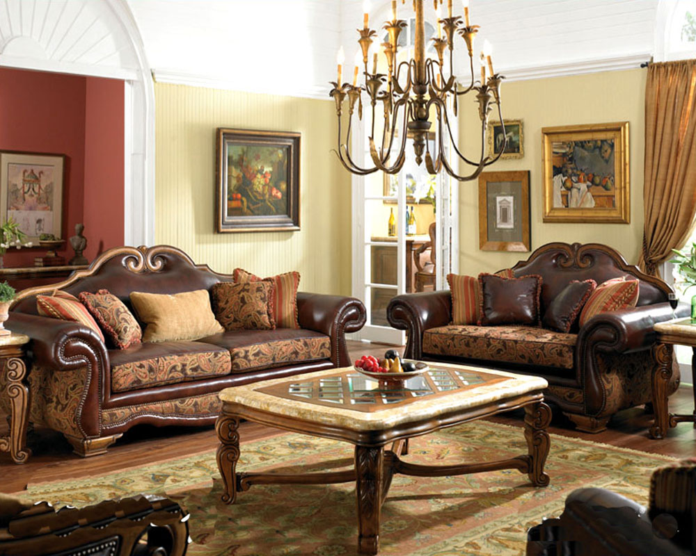 Aico living room set tuscano ai 349 for Aico living room sets