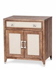 AICO Night Stand Door Biscayne West in Haze Color AI-80040-200