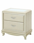 AICO After Eight NightStand in Pearl Croc AI-19040-12