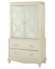 AICO After Eight Two-Door Chest in Pearl Croc AI-19070-12