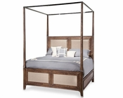 AICO Canopy Bed Biscayne West in Haze Color AI-80100-200BED