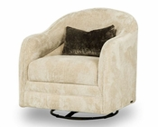 AICO Swivel Chair Cloche AI-10839-TAUPE-00