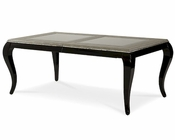 AICO After Eight Rectangular Dining Table in Titanium AI-19000-16