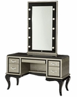 AICO After Eight Vanity/ Desk & Mirror in Titanium AI-19000VM2-16