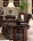 AICO Tufted Swivel Chair Monte Carlo II AI-53839-PASLY-00