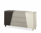 AICO Upholstered Dresser Beverly Blvd AI-06050-93