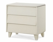 AICO Upholstered Night Stand Beverly Blvd AI-06040-11