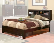 Alpine Bed w/ Bookcase Headboard Solana ALSKBEDBC