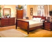 Alpine Bedroom Set Louis Philippe 1 AL3700SET