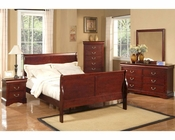 Alpine Bedroom Set Louis Philippe 2 AL2700SET