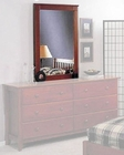 Alpine Mirror in Light Cherry Portola ALPB-06LC