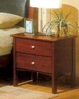 Alpine Night Stand with 2 Drawers Costa ALCC-22