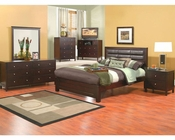 Alpine Panel Bedroom Set Solana ALSKSET