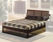 Alpine Platform Bed in Dark Cherry Portola ALPB-11DCBED