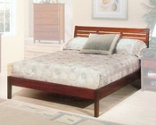 Alpine Platform Bed in Light Cherry Portola ALPB-11BED