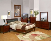 Alpine Platform Bedroom Set Newport ALNCSET