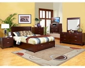 Alpine Platform Bedroom Set with Storage Camarillo ALTASET