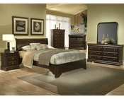 Alpine Sleigh Bedroom Set Chesapeake AL3200SET
