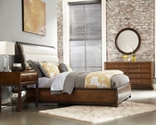American Drew Bedroom Set with Upholstered Bed Miramar AD-218-304SET