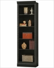 Antique Black Bunching Bookcase Oxford by Howard Miller HM-920-017