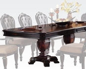 Antique Finish Dining Table Le Havre by Acme Furniture AC60400