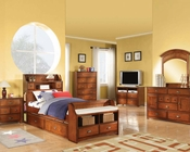Antique Oak Bedroom Set Brandon by Acme AC11010SET