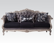 Antique Platinum Finish Sofa Chantelle by Acme Furniture AC51540