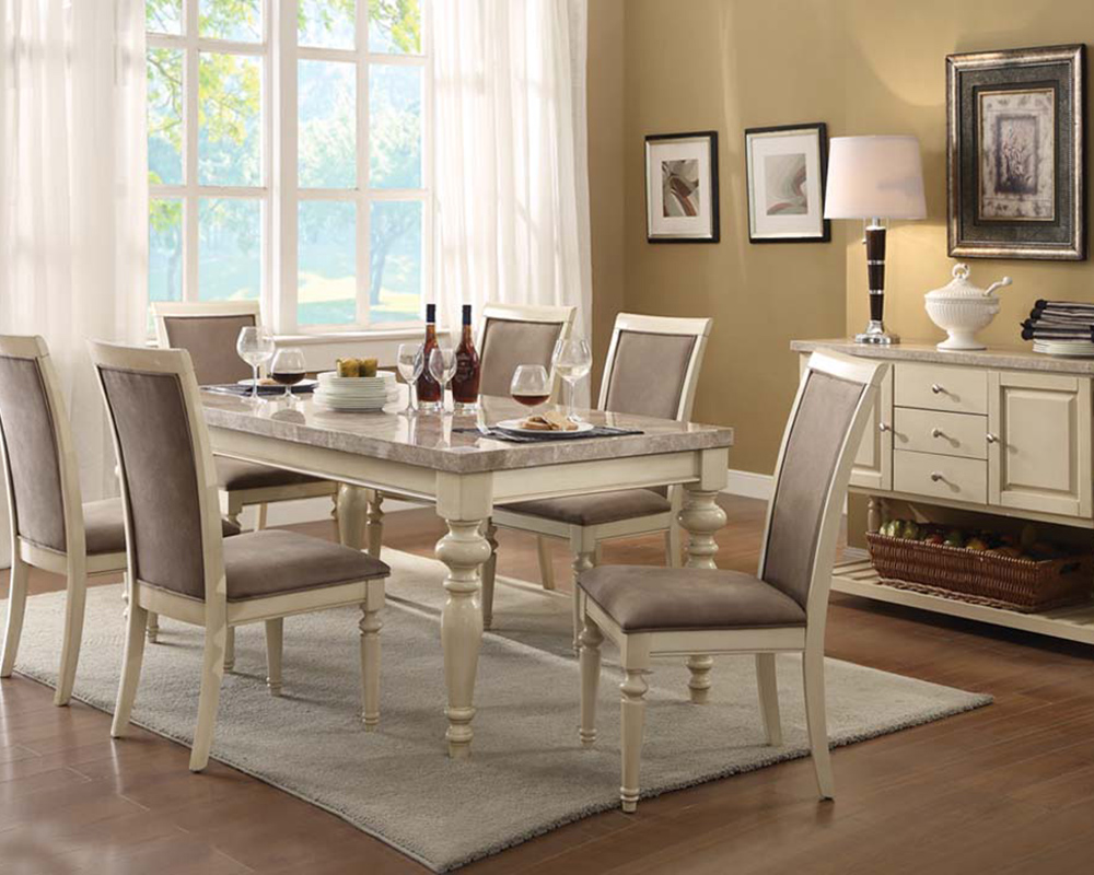 antique white dining set ryder by acme furniture ac71705set thematic white dining room sets for your intimate soul homeideasblog