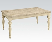 Antique White Dining Table Ryder by Acme Furniture AC71705