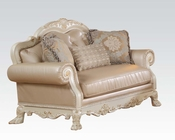 Antique White Loveseat Dresden by Acme Furniture AC53261