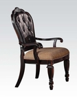 Arm Chair in Antique Finish Le Havre by Acme AC60404 (Set of 2)