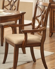 Arm Chair Keegan II by Homelegance EL-2546NFA (Set of 2)