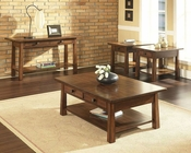 Asian Style Occasional Table Set Dakota Somerton SO-425-04SET