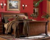 Aspen Bedroom Furniture - Sleigh Bed Napa AS74-400