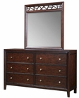 Aspen Dresser and Mirror Genesis AS-I10-453-62