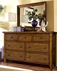 Aspen Furniture Dresser & Mirror Cross Country ASIMR-454-62