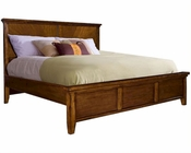 Aspen Furniture Panel Bed Cross Country ASIMR-412BED
