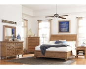 Aspen Sleigh Bedroom Spruce Bay AS-I72-400WSet