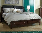 Aspen Sleigh Storage Bed Genesis AS-I10-400BEDD